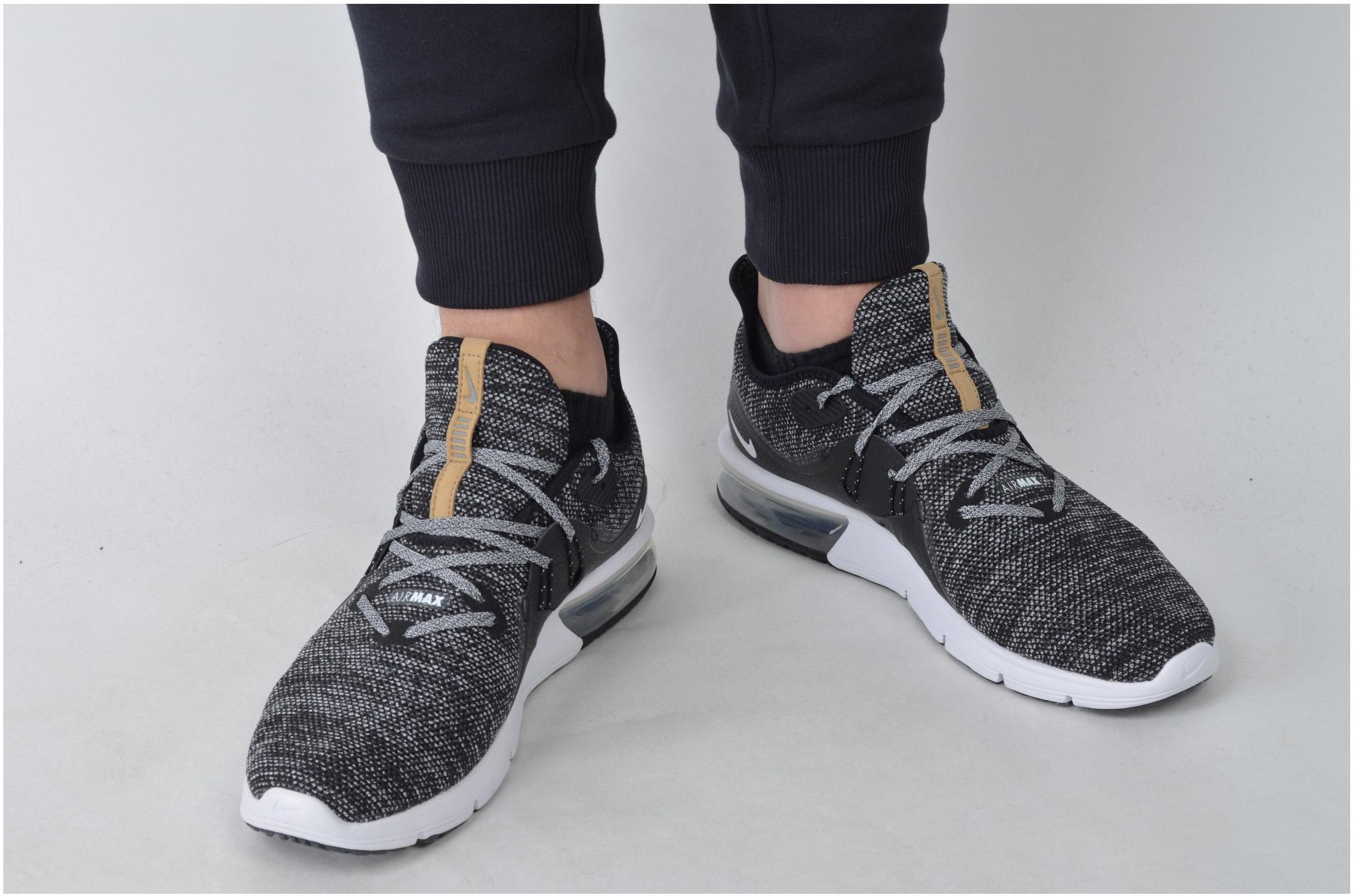 Pánské běžecké boty Nike AIR MAX SEQUENT 3 černé. Sleva. Kód výrobce    921694-011 0825074d2f