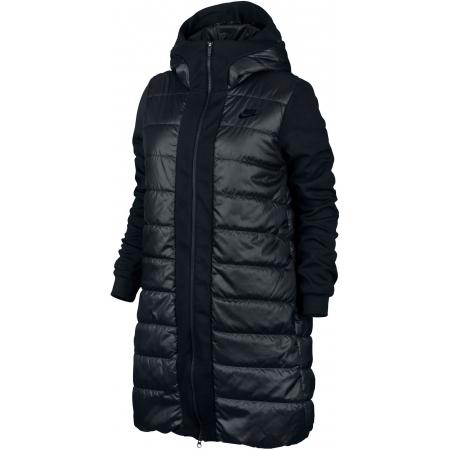 30fab41023 ... SPORTSWEAR ADVANCE 15 PARKA černý. Zimní dámský kabát značky Nike vás v  zimě bezpečně zahřeje.