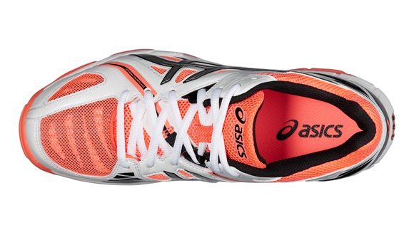 Dámské volejbalové boty Asics GEL-VOLLEY ELITE 3 bílé oranžové ... e02be94033
