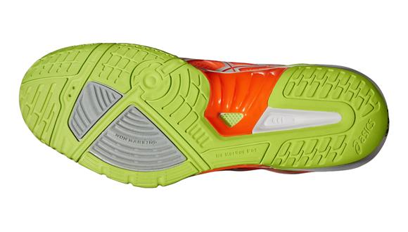 88bfc54500f Pánské sálové boty Asics GEL-FIREBLAST 2 oranžové. Perfektní boty do haly
