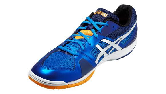 Pánské sálové boty Asics GEL-BLADE 5 bílé   modré. Vynikající sálové boty  určené především pro florbal 907bbc8b40