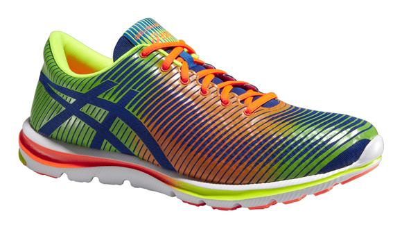 8fa74ef4785 Pánské běžecké boty Asics GEL-SUPER J33 modré oranžové žluté