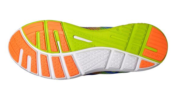 f1dfc1f9029 Pánské běžecké boty Asics GEL-SUPER J33 modré oranžové žluté. Model z řady  Natural usnadňuje cestu k přirozenému běhu.