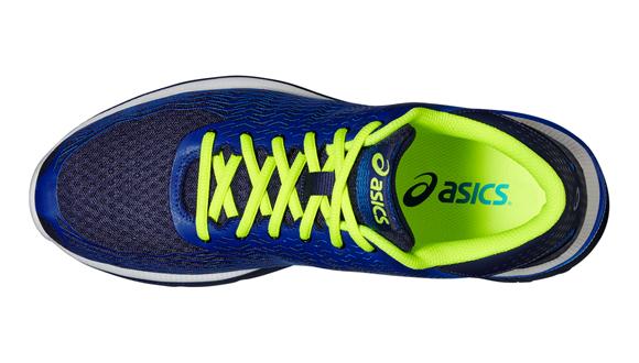93d263f308c Pánské běžecké boty Asics GEL-SUPER J33 2 modré žluté. Model z řady Natural  usnadňuje cestu k přirozenému běhu.