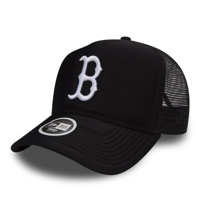9FORTY WMN ESSENTIAL AFRAME TRUCKER BOSTON RED SOX W