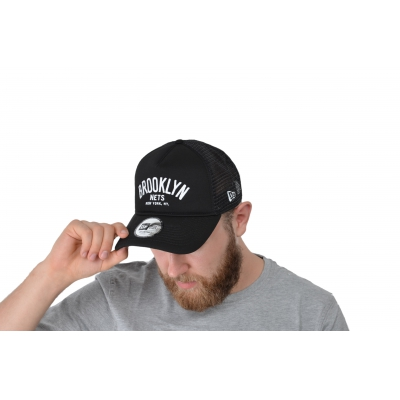 9FORTY AFRAME CHAINSTITCH TRUCKER BROOKLYN NETS