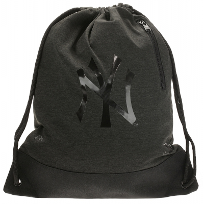 MLB PREMIUM HEATHER GYM SACK NEW YORK YANKEES