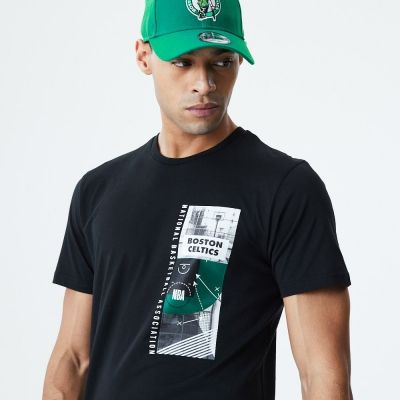 BOSTON CELTICS PHOTO PRINT TEE