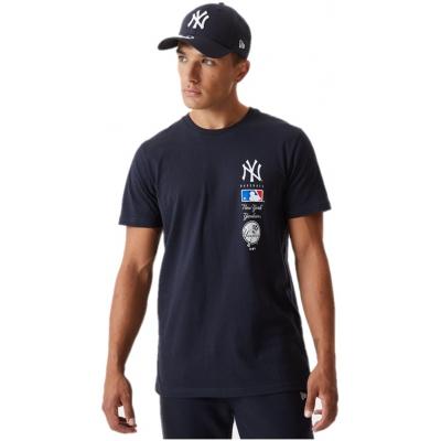 MLB STACK LOGO NEW YORK YANKEES TEE