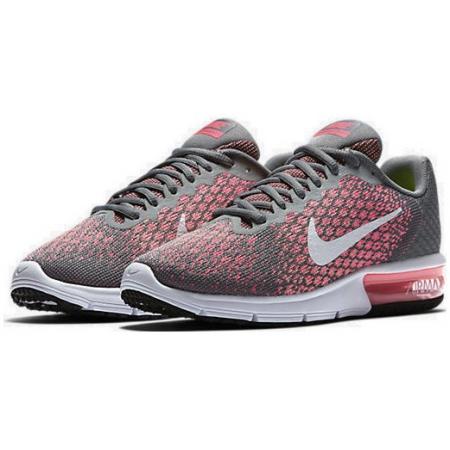 Dámské boty Nike AIR MAX SEQUENT 2 W šedo-růžové. Sleva d36246772ff