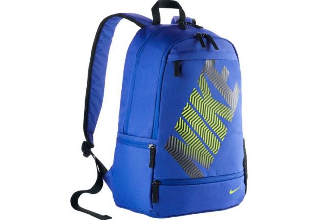 9d90b2c976 Batoh Nike CLASSIC LINE modrý. Batoh vhodný do školy