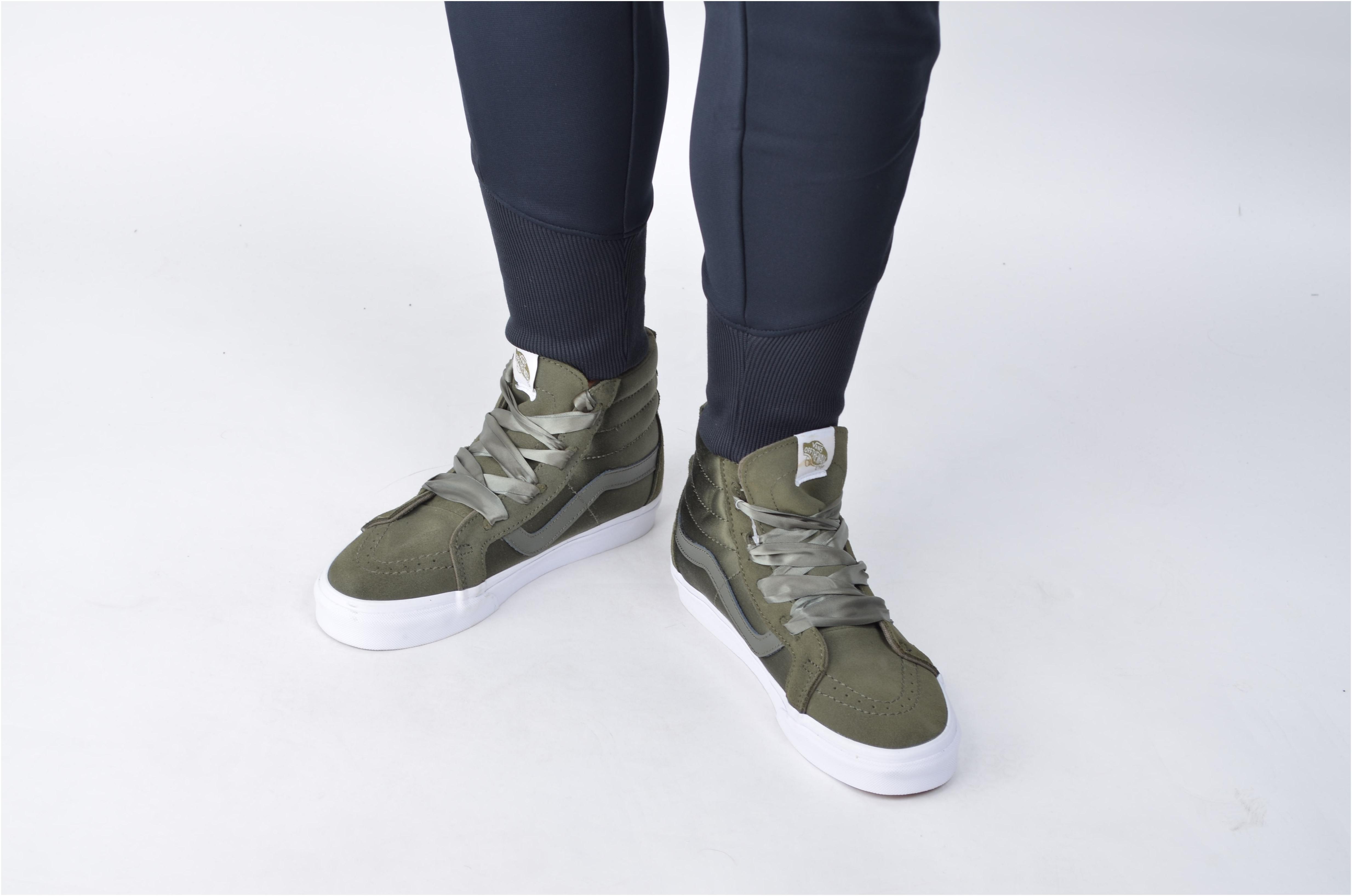 Dámské kotníkové boty Vans UA SK8-HI ALT LACE (BALLERINA) W zelené. Sleva 6de8a6250d3