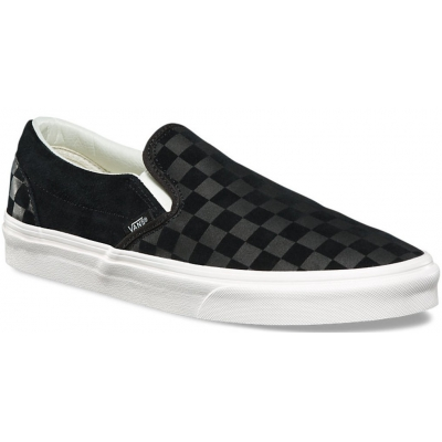 UA CLASSIC SLIP-ON CHECKER EMBOSS