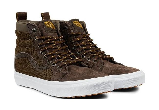 Pánské kotníkové boty Vans UA SK8-HI MTE hnědé. Sleva 9d06a0a532
